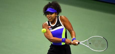 Osaka overtuigend naar halve finales op US Open