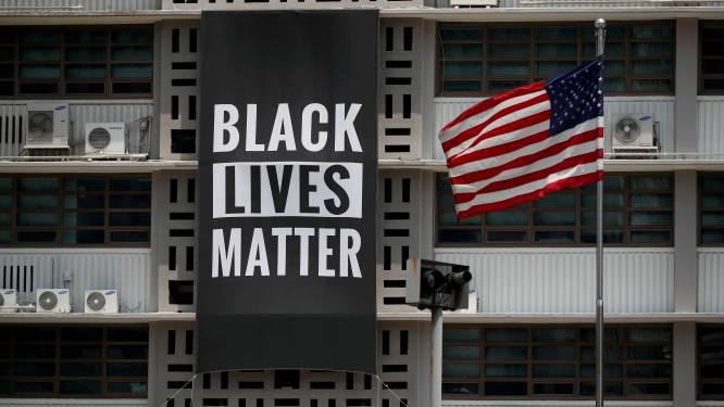 Amerikaanse ambassade in Zuid-Korea verwijdert Black Lives Matter-vlag wegens ongenoegen Trump