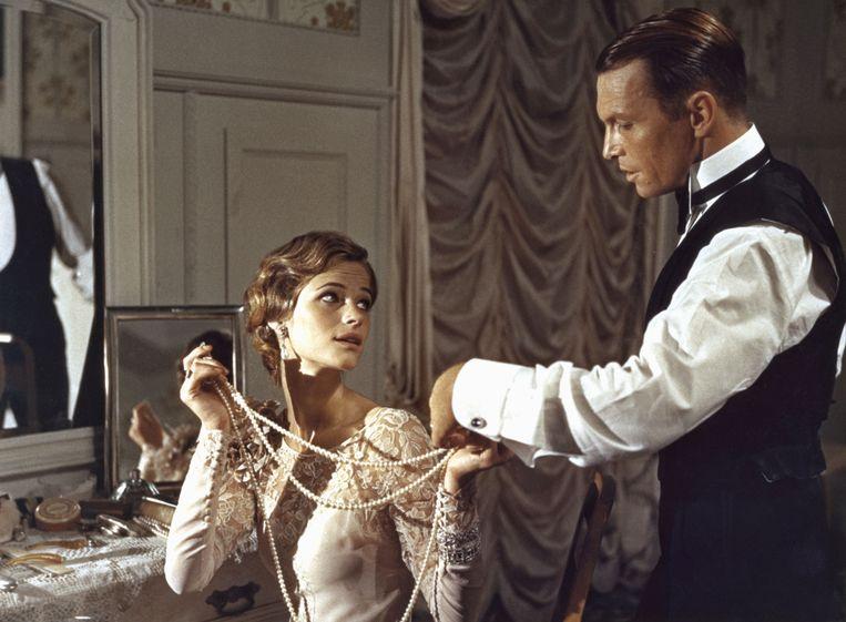 Charlotte Rampling en Umberto Orsini in 'The Damned' (1969). Beeld Collection Christophel