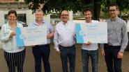 Basisscholen krijgen cheque voor deelname aan Mooimakers