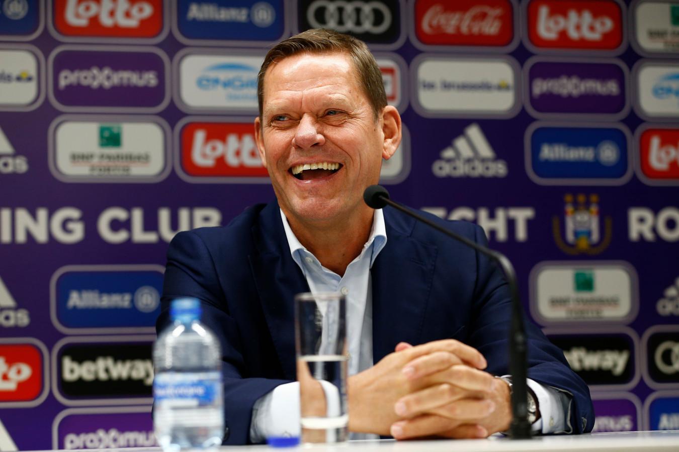 3 januari 2019: Frank Arnesen wordt voorgesteld.