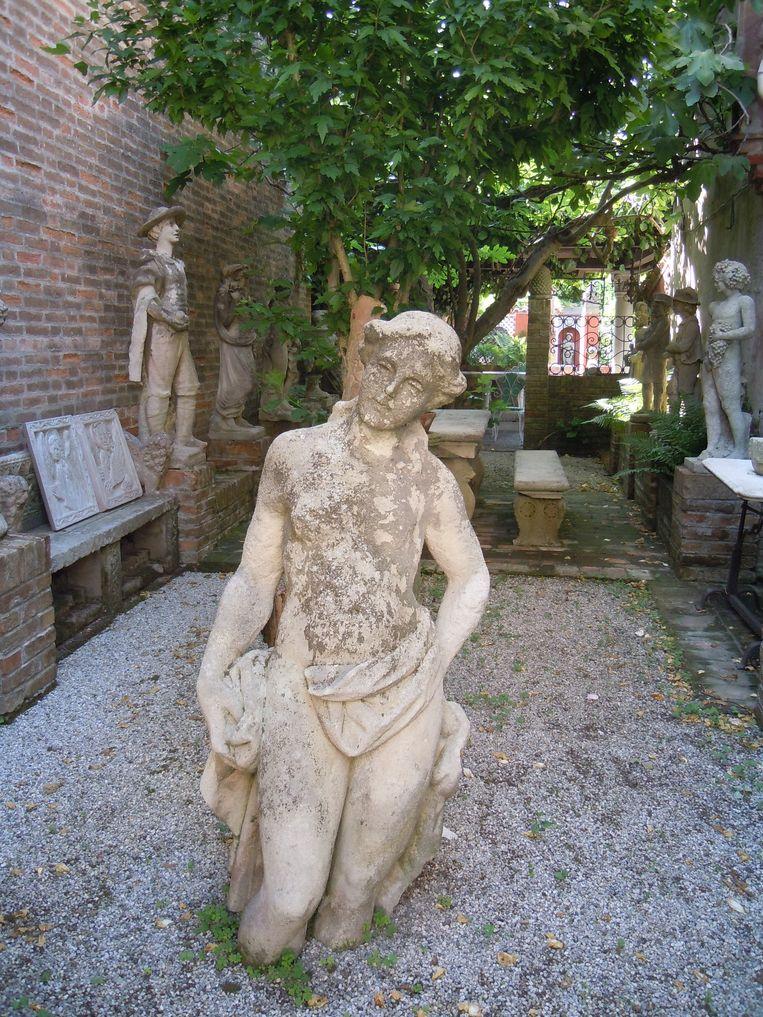Het museum van Torcello vertelt de ontstaansgeschiedenis van de bakermat van Venetië. Beeld Jef Mertens/The Venice Insider