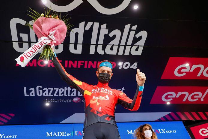 Damiano Caruso a réalisé un sacré numéro pour aller cueillir sa première victoire d'étape sur le Giro.