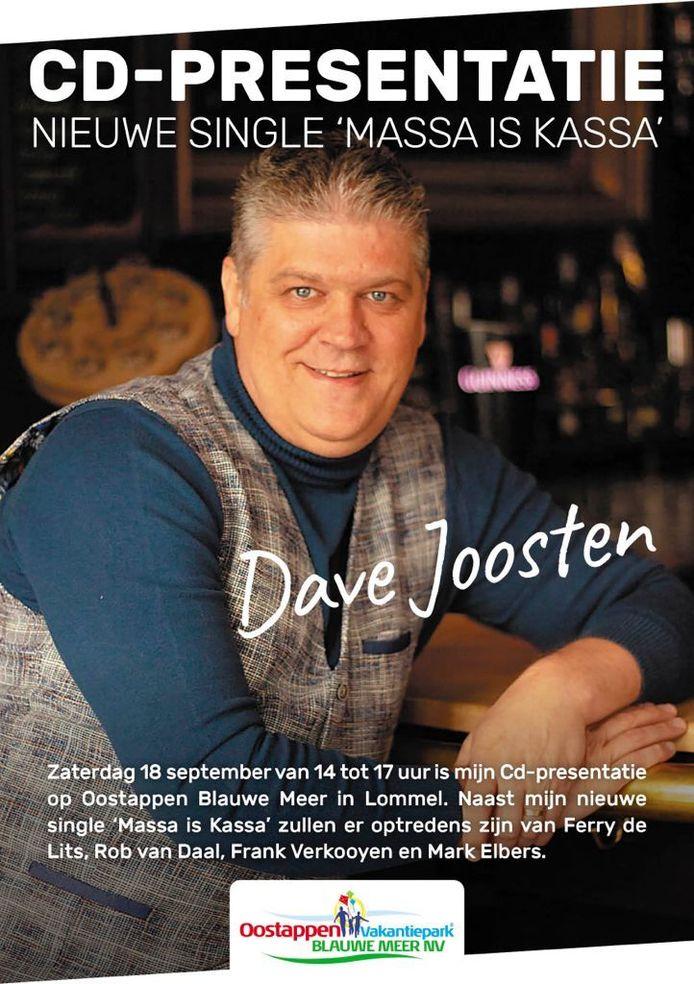 Zanger Dave Joosten