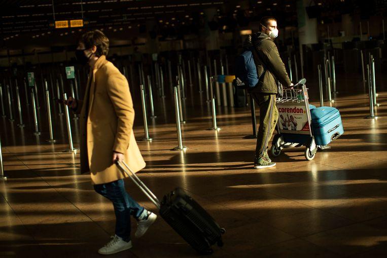 Niet-essentiële reizen worden verboden tot 1 maart.  Beeld AP