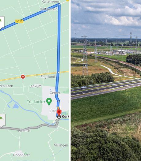 Google Maps laat mensen in Overijssel onnodig kilometers omrijden en dit is waarom