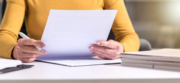 Maud ontvangt een bijzondere brief