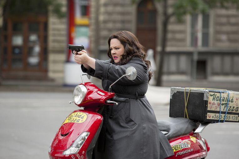 Melissa McCarthy in Spy (Paul Feig, 2015). Beeld