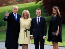 Trump met les petits plats dans les grands pour Macron