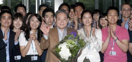 Iconische Samsung-baas, die ooit 150.000 mobieltjes verbrandde, overleden