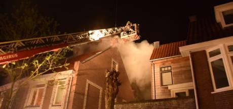Bed veroorzaakt woningbrand in Goudse binnenstad