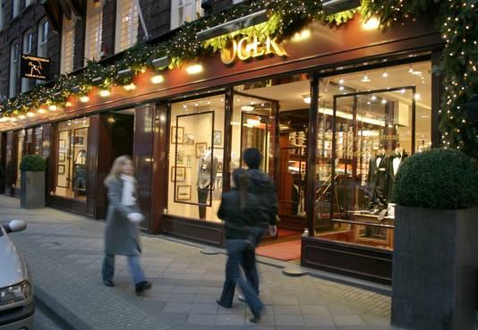 De sjieke modezaak Oger aan de P.C.Hooftstraat