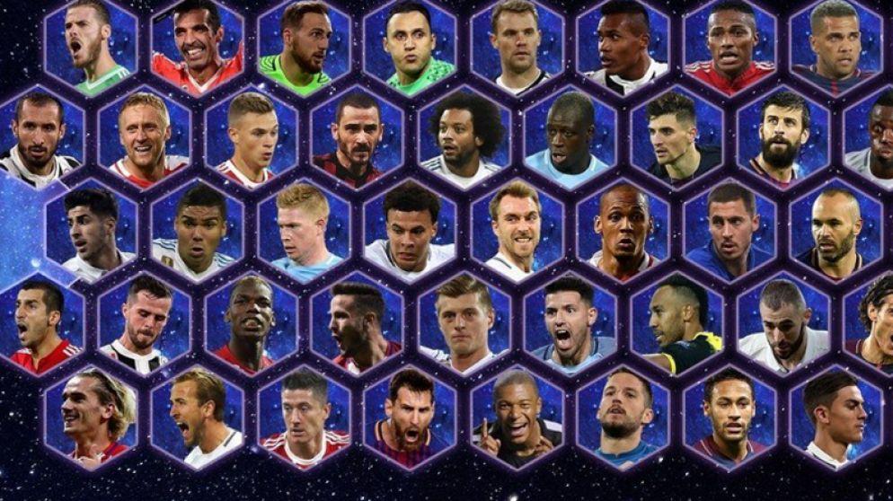 Vier Belgen genomineerd voor Ploeg van het Jaar van UEFA