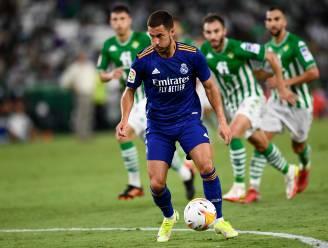 Real Madrid wint met het kleinste verschil tegen Betis, Hazard mag een klein kwartiertje meedoen en scoorde ei zo na de 0-2