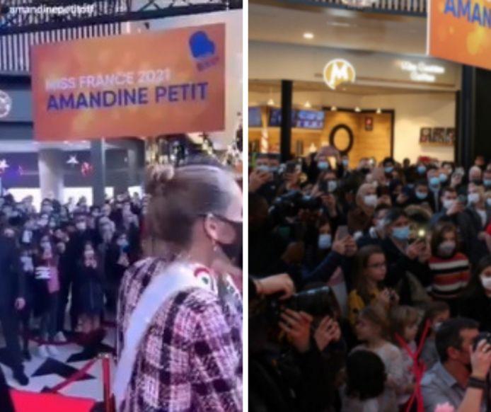 Le bain de foule de Miss France.