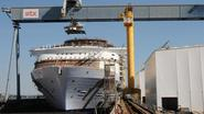 Grootste passagiersschip ter wereld te water gelaten in Frankrijk