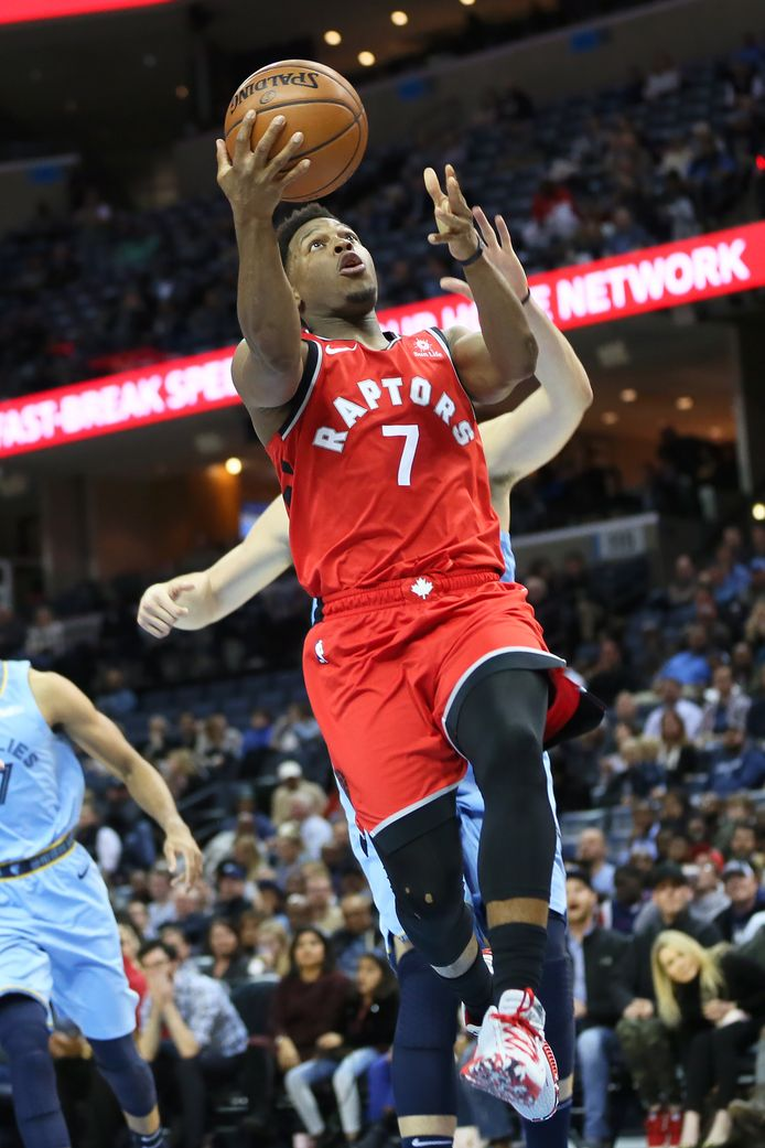 Kyle Lowry van Toronto Raptors.