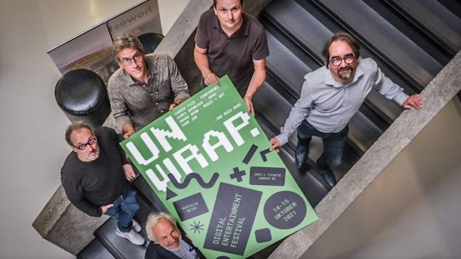 Unwrap lanceert ambitieus programma met topsprekers zoals Clair Bellens van ILM, Europese jobbeurs en optreden van Compact Disk Dummies