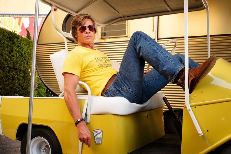 Ook Brad Pitt, die eveneens een hoofdrol vertolkt in 'Once Upon a Time in Hollywood', zal over de Croisette flaneren.  Beeld AP