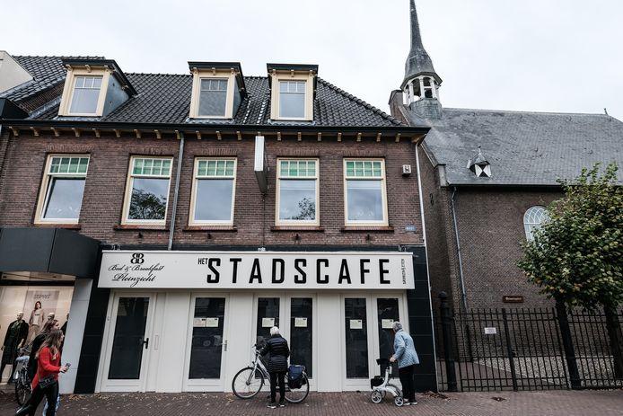 Stadscafé Zevenaar sloot in oktober tijdelijk de deuren.