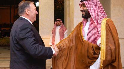 """Pompeo: """"VS steunen Saudi-Arabië, bedreigend gedrag Iran wordt niet getolereerd"""""""