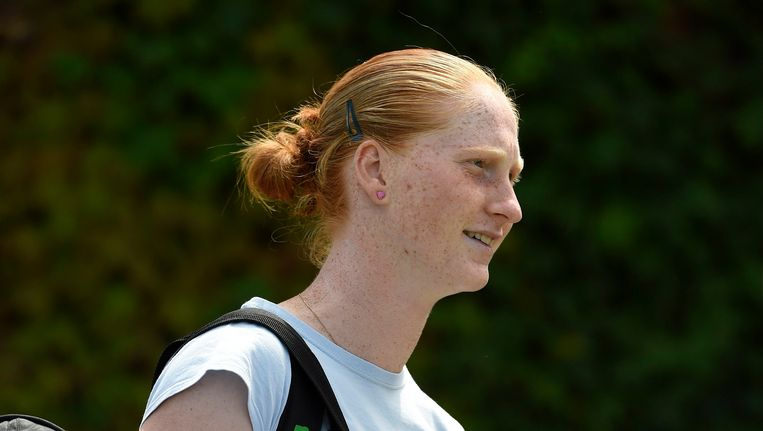 Alison Van Uytvanck blijft de beste Belgische. Beeld PHOTO_NEWS