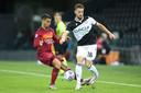 Hidde ter Avest (rechts) namens Udinese.