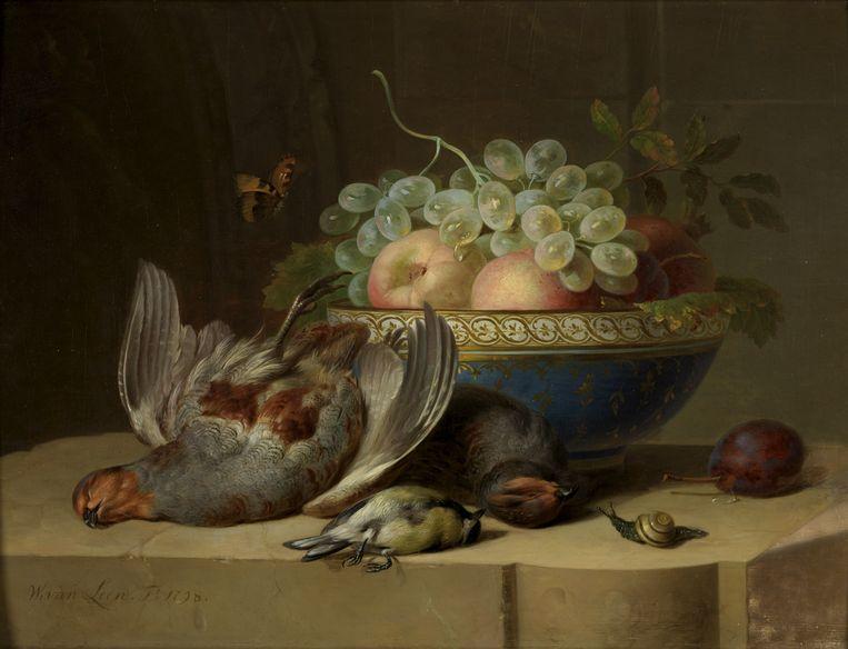 Willem van Leen. Stilleven, 1798. Olieverf op paneel. Collectie Rijksmuseum Twenthe, Enschede. Beeld K2