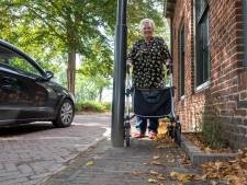 Hattemse weg na herinrichting ontoegankelijk voor mindervaliden: 'Kan er gewoon niet langs'