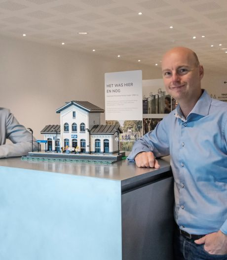 'Lego station Vught' 120 keer gebouwd; bedenker schenkt opbrengst aan NM Kamp Vught