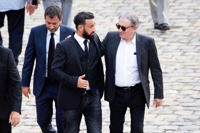 Bernard Montiel, Cyril Hanouna et Michel Drucker