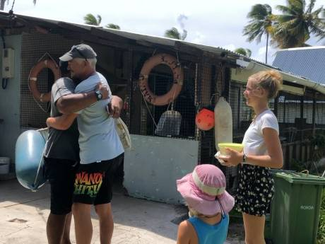 Noodweer op Bounty-eiland  Zeezeilen met Zouterik #17