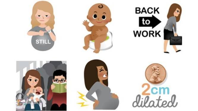 Must see: deze grappige emoji's leggen het moederschap perfect uit
