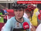 """Evenepoel, die onderweg aanviel, blij voor Van Aert: """"Hebben medaille, dat is het belangrijkste"""""""