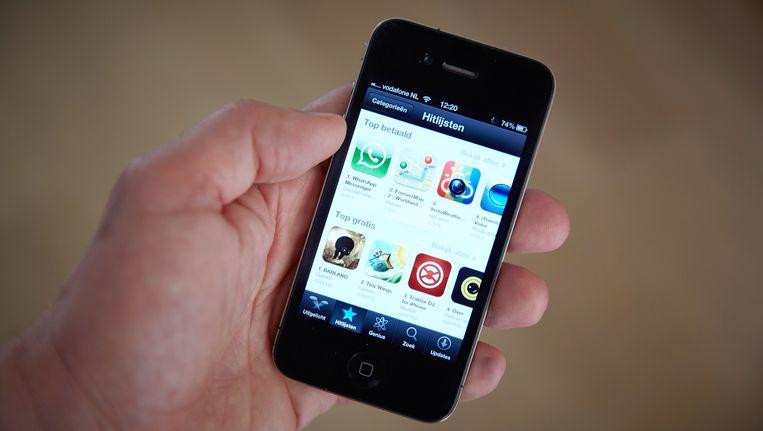 Verschillende apps zijn door Apple verwijderd Beeld anp