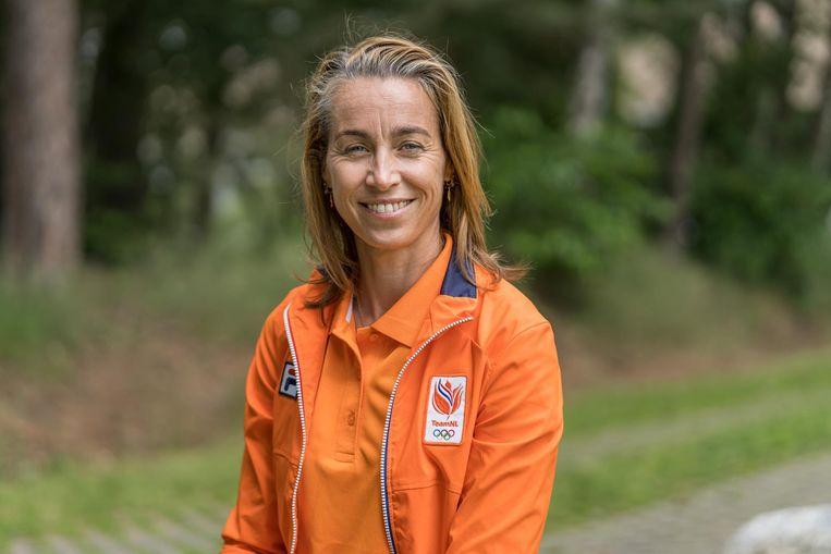 """Marcelien de Koning, chef d'émission van NOCNSF. """"Ik ga sporters niet vertellen hoe ze hun leven moeten leiden."""