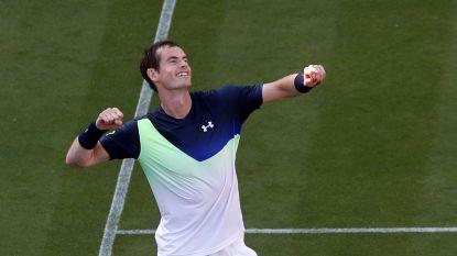 Murray wint voor het eerst in een jaar tijd - Van Uytvanck naar tweede ronde in Eastbourne