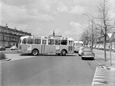 Scheldpartijen waren niet van de lucht in 1967, als de bus weer spiegels van auto's had gereden