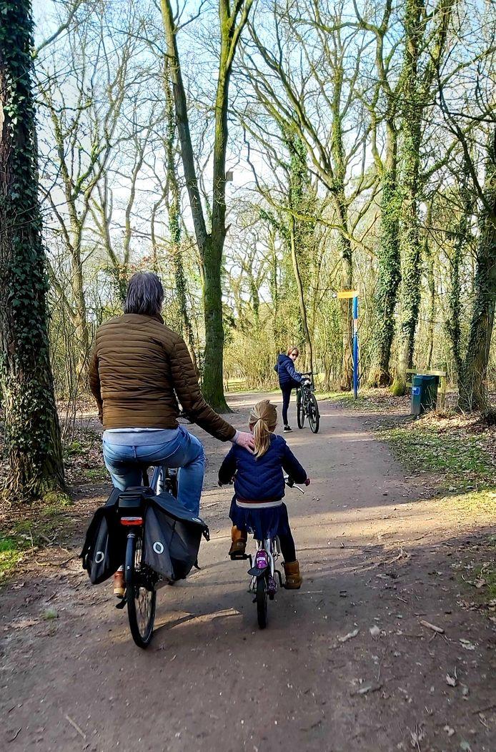 Lekker rondje fietsen op het Hulsbeek