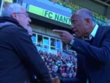 """""""T'es malade ou quoi?"""": vive altercation en plein match entre deux coaches de Ligue 1"""