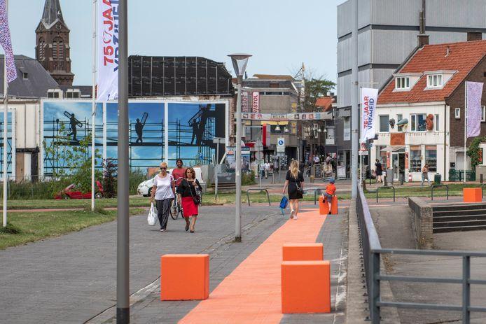 De binnenstad van Terneuzen.