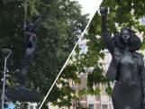 Black Lives Matter-standbeeld een dag na plaatsen alweer weg