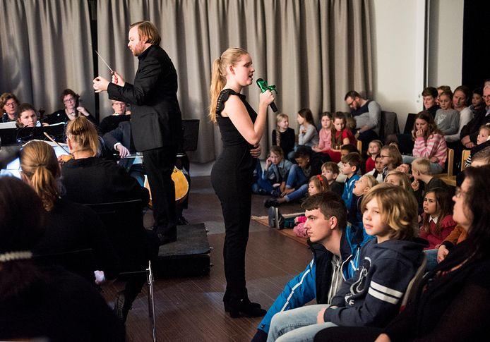 Woerden - Jubileumuitvoering van het Orkest van het Groene Hart in Het Baken (Foto Marnix Schmidt)