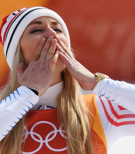 Ski-diva Vonn verlaat olympisch podium in tranen