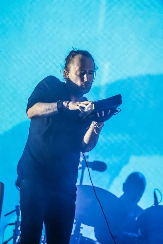 Concert de Radiohead, vendredi soir au festival Rock Werchter