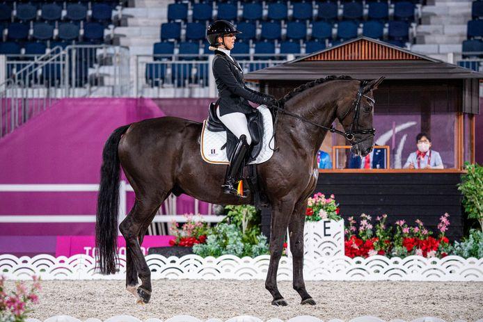 Déjà médaillée la semaine dernière, la protégée de Michèle George double la mise à Tokyo.