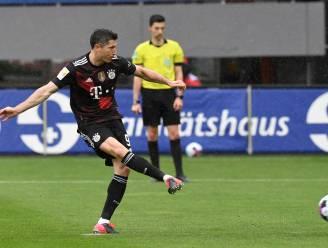 """Lewandowski evenaart record Müller met 40ste doelpunt in Bundesliga: """"Zo ongelooflijk trots om hier geschiedenis te schrijven"""""""