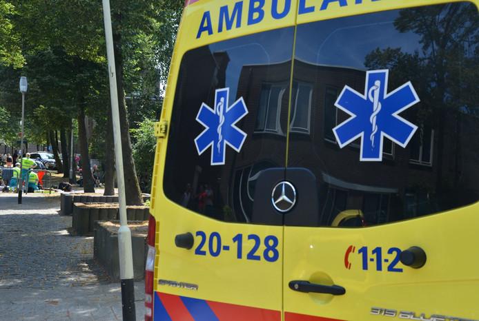 Een vrouw raakte zwaargewond bij een ongeluk in Breda.