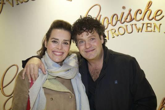 Dirk Zeelenberg met echtgenote