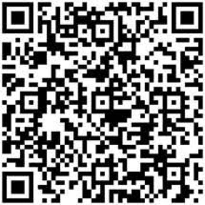 Via deze QR code is vanaf 3 september een van de fietsroutes langs heilige huisjes in de Liemers beschikbaar.